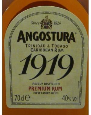 Rhum - Angostura - 1919