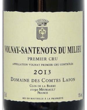 """Volnay-Santenots du milieu - Domaine des Comtes Lafon - """"1er cru"""" 2013"""