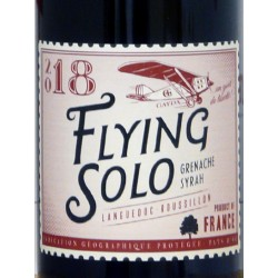 """IGP Pays d'Oc - Domaine Gayda - """"Flying Solo"""" 2018 rouge"""